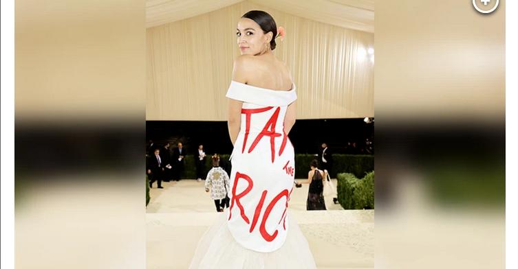 Press Response to 'Tax the Rich' Dress Proves AOC's Point - FAIR