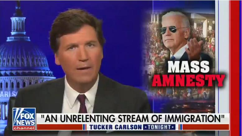 Tucker Carlson: 'An Unrelenting Stream of Immigration'