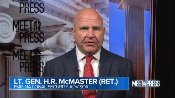 HR McMaster, Meet the Press
